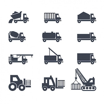 Icons over Vrachtwagens