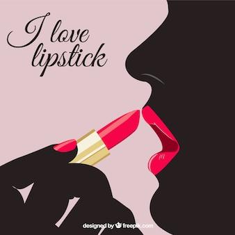 Ik hou van lipstick