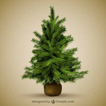 Illustratie van de kerstboom