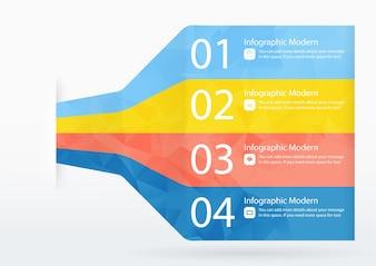 Infografisch sjabloon