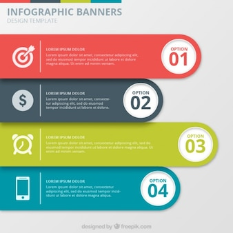 Infographic Banners Collection