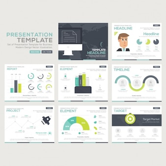 Infographic templates-collectie
