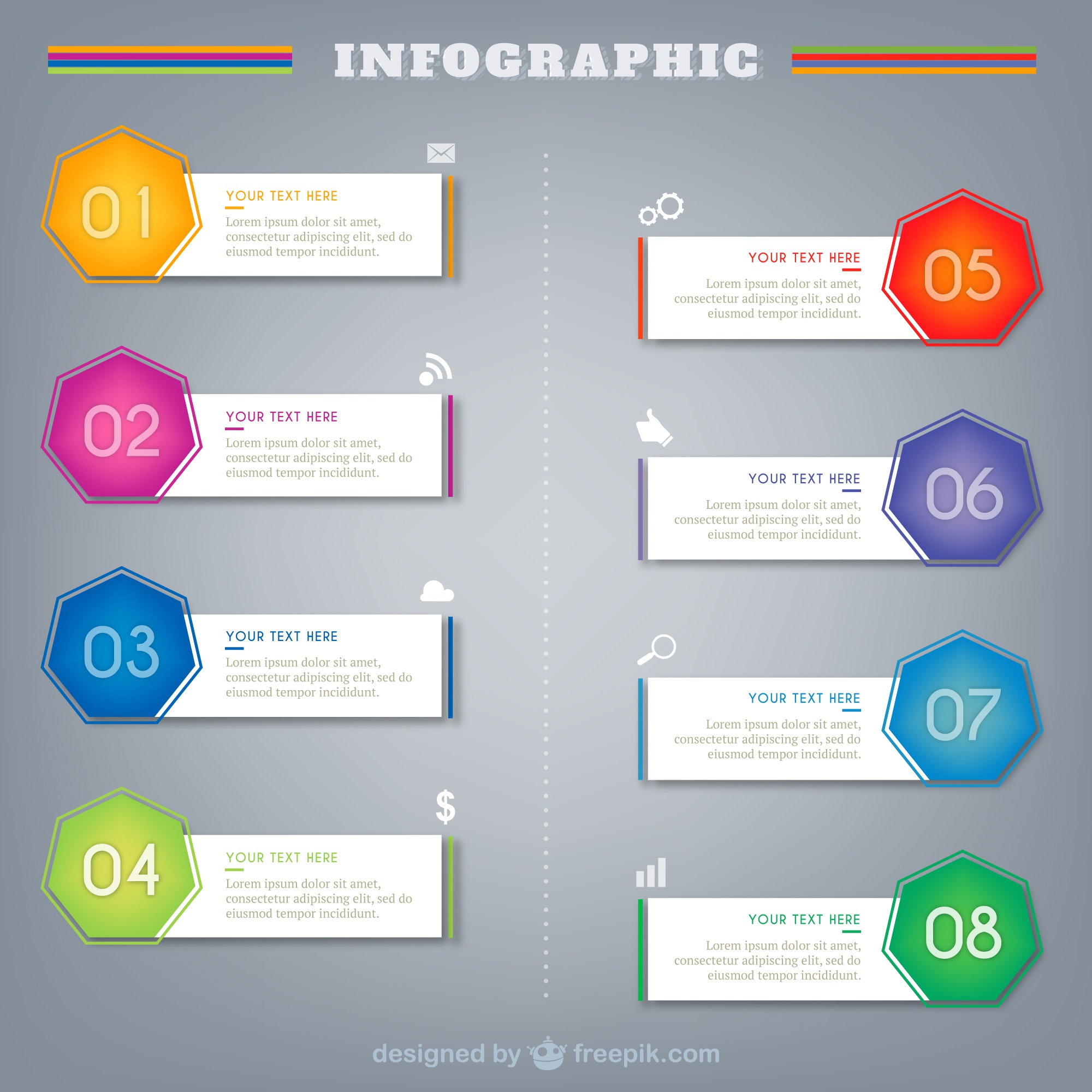 Infographic Templates Set