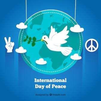 Internationale dag van de vrede groet