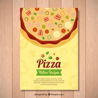 Italiaans Recept Pizza Flyer
