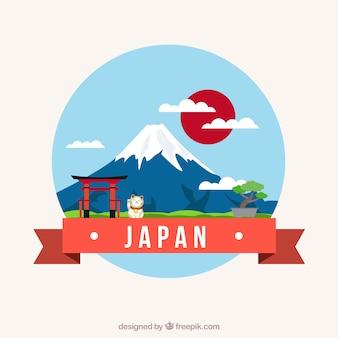 Japanse landschap