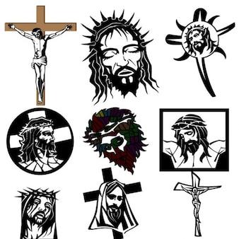 Jesus christus religieuze beelden