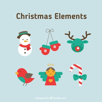 Kerstmis Elements Collection