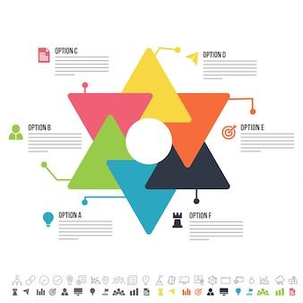 Kleurrijk infografisch ontwerp