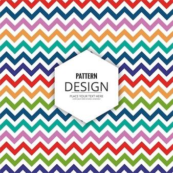 Kleurrijk patroon achtergrond