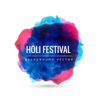 Kleurrijke holi festival achtergrond