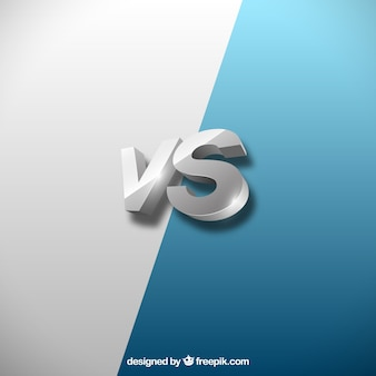 Koele realistische versus achtergrond