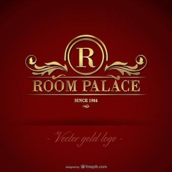 Koninklijke gouden logo gratis te downloaden