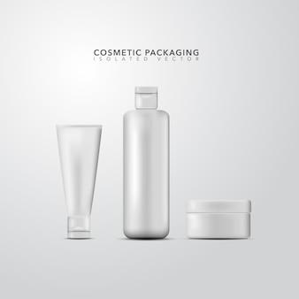 Kosmetische verpakking collectie