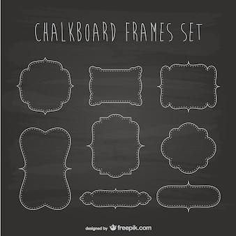 Krijtbord frames set