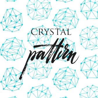 Kristal patroon