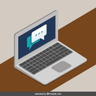 Laptop-chat