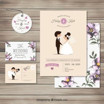 Leuke bruiloft uitnodiging collectie