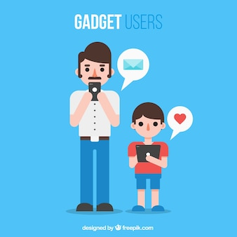Leuke gadget gebruikers
