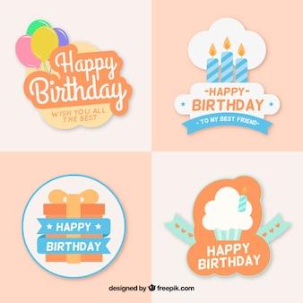 Leuke verjaardag badges
