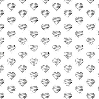 Liefde patroon ontwerp
