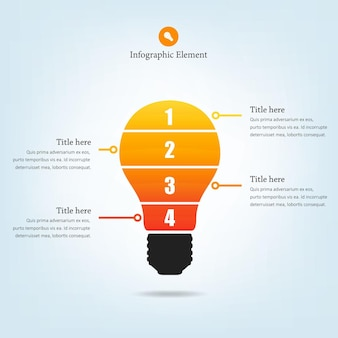 Lightbulb Infographic