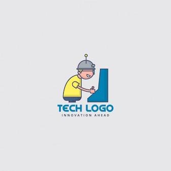 Logo, kind het spelen van videospellen