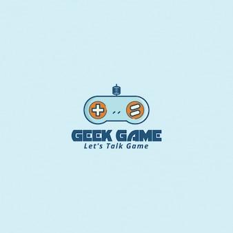 Logo met een video game controller