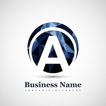 Logo van de letter A