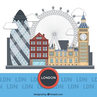 Londen gebouwen