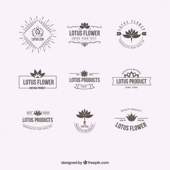 Lotusbloem logo vector gratis download for Designer di case virtuali gratis
