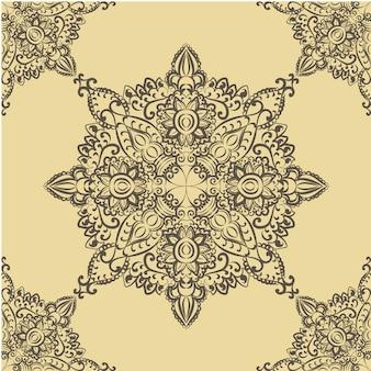 Mandala sierachtergrond
