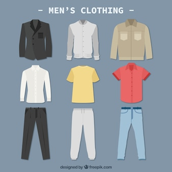 Mannen kleding colletction