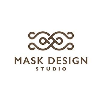Masker Ontwerp Logo