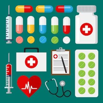 Medische elementen collectie