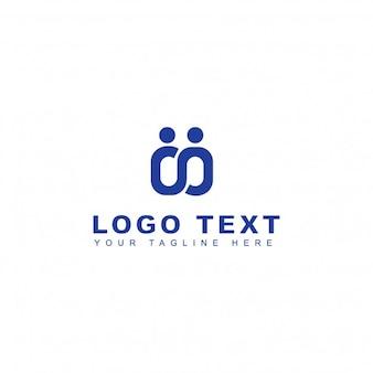 Mensen verbinden logo