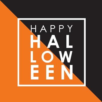 Minimale Halloween achtergrond