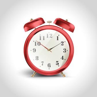 Minuut klok ochtend achtergrond oud