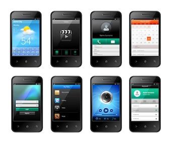 Mobiel ui design