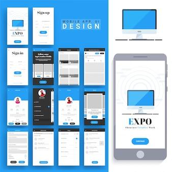 Mobiele app ontwerp