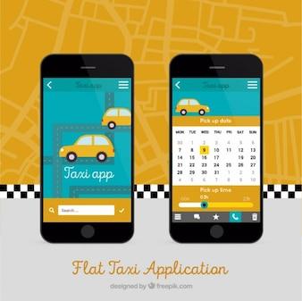 Mobiele app voor taxi's