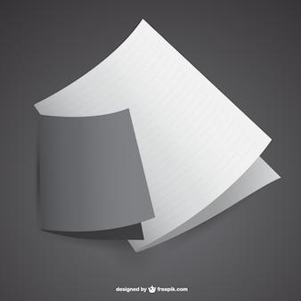 Mockup van vouw papieren brochure