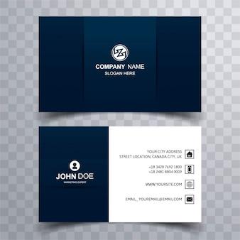 Modern adreskaartje