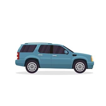 Modern Urban Avontuur SUV voertuig illustratie