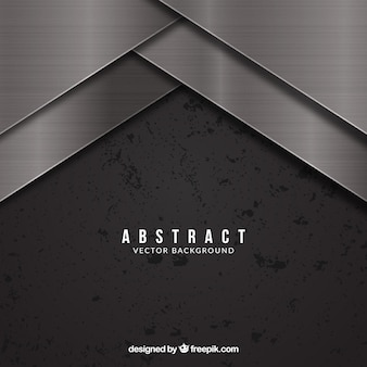 Moderne achtergrond met metallisch ontwerp