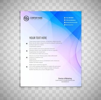 Moderne bedrijfsbrochure