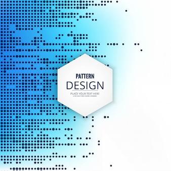 Moderne blauwe patroon achtergrond