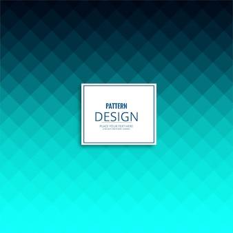Moderne blauwe patroonachtergrond