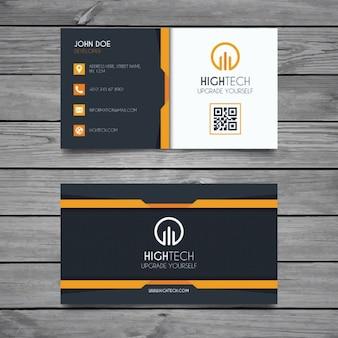 Moderne corporate business card