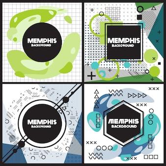 Moderne flyers design collectie